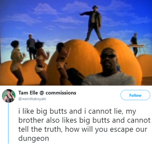 I like big butt and i can not lie
