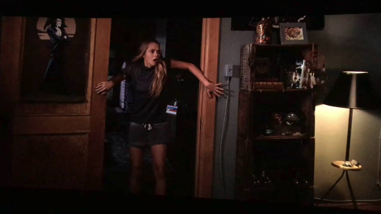 Lights out scene